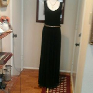 Calvin Klein  long black dress